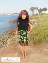 Free sewing #patterns for #Skipper, #Barbie's little sis @ ChellyWood.com
