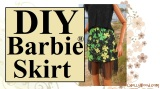 Sew a #StPaddysDay skirt for #Barbie, #Skipper, or other dolls @ ChellyWood.com