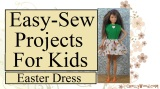 #Sew an easy #Holiday dress for #dolls w/FREE pattern @ ChellyWood.com