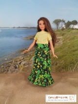 FREE printable #sewing pattern for curvy #dolls @ ChellyWood.com #dollstagram