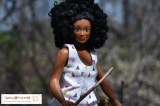"""#Lammily's """"Photographer"""" #doll goes for a #hike in theforest"""