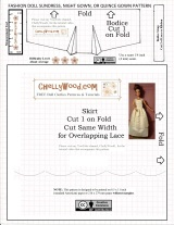 #Sew a #sunny strappy top for #dolls w/this FREE pattern @ChellyWood.com