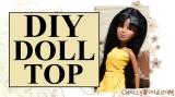 #DIY tutorial for #Sewing a #dolls shirt @ChellyWood.com