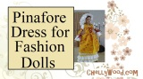 Free Printable #Sewing Patterns for Fashion Doll Dresses @ ChellyWood.com #dolls #dollstagram