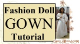 #Barbie #Princess Dress #Tutorial (FREE Patterns Coming Soon) @ ChellyWood.com