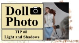 #Doll #Photography Tip #8: Light and Shadows