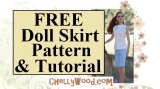 FREE #Sew Pattern for 16 or 17-inch #BJD or other #Dolls @ChellyWood.com