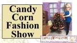 #Candy corn #fashiondoll show @ ChellyWood.com (free patterns for#dolls)
