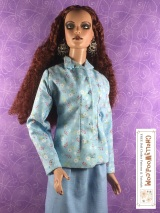 #Sew a business suit for tall fashion #dolls w/FREE #patterns @ChellyWood.com