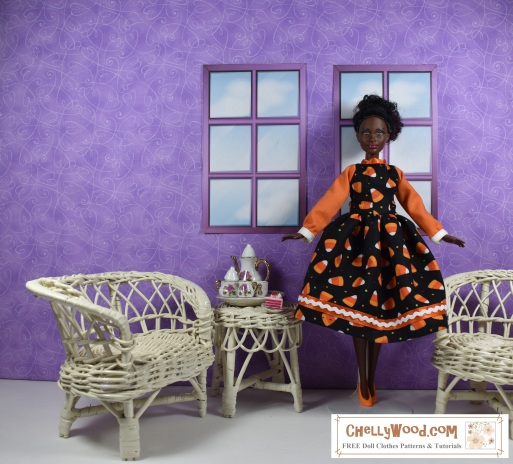 Please click on the following link to download the FREE printable sewing pattern for making the dress shown: http://wp.me/p1LmCj-FwW