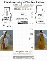 #Thanksgiving #Pilgrim Costume Fits Most 11.5-inch Fashion#Dolls