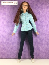 Sew #DollClothes for 16 to 17 inch #dolls w/FREE #sewing patterns @ ChellyWood.com