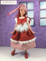 FREE #Holiday sewing patterns for #Disney princess #Dolls @ ChellyWood.com