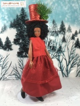 Bring in the#2018 #NewYear with a FREE #dolls skirt pattern @ ChellyWood.com