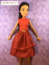 Free #doll clothes #patterns for 17-inch #dolls @ ChellyWood.com