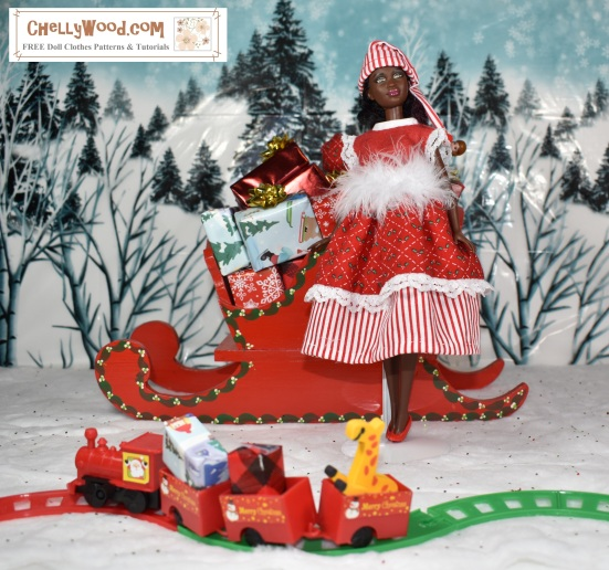 please visit chellywoodcom for free printable sewing patterns for dolls of many shapes - Free Christmas Toys