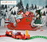 FREE #Christmas #Dolls clothes patterns @ ChellyWood.com #Toys