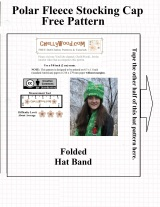 FREE #Pattern for #Winter Stocking Cap @ ChellyWood.com