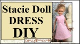 #Sewing #DIY w/FREE Pattern for Stacie #Dolls' Clothes