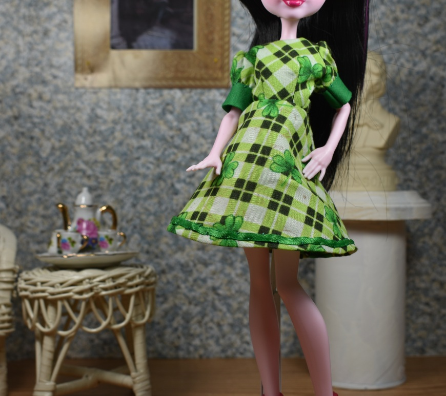Monster High Doll Clothes Patterns – Free, printable doll clothes