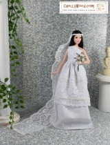 #Barbie #Wedding Dress free #Patterns @ ChellyWood.com