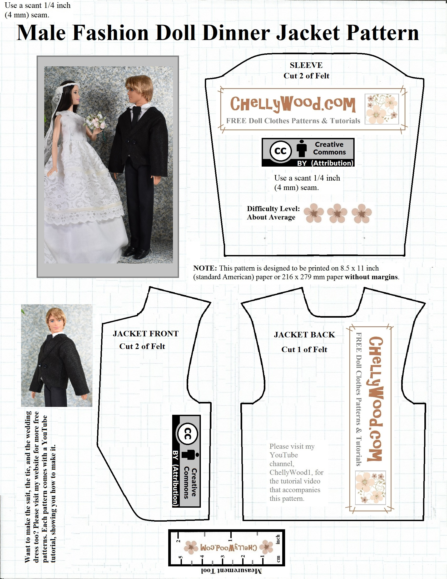 It is a picture of Gratifying Ken Doll Clothes Patterns