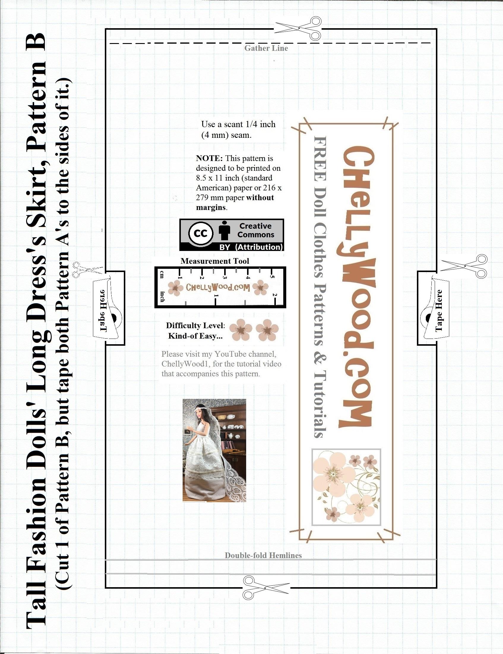 Free Barbie Wedding Dress Sewing Patterns | Saddha