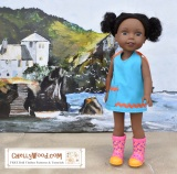 Free #DIY #sewing patterns for #WellieWishers and H4H #dolls