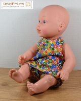 Free #patterns for #baby #dolls clothes @ChellyWood.com