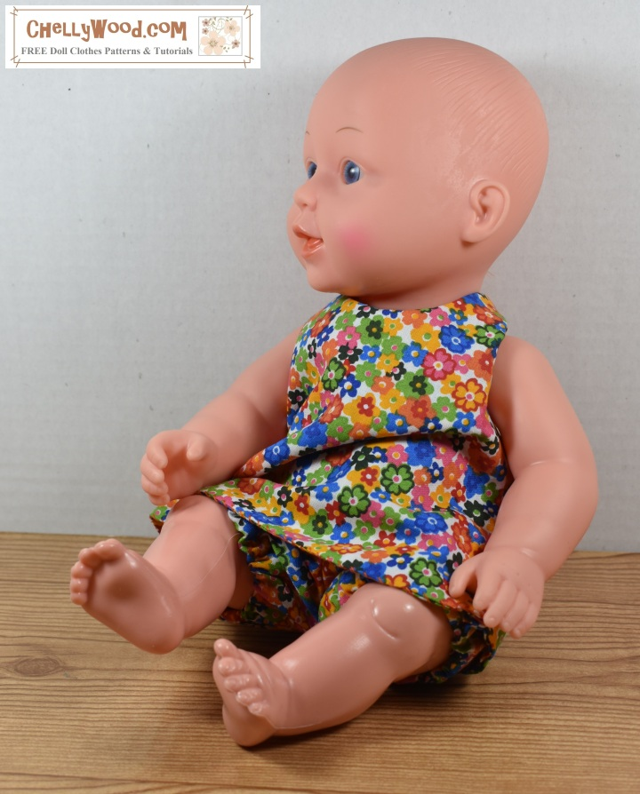 Sew A Summer Outfit For Baby Dolls W Free Patterns Chellywood