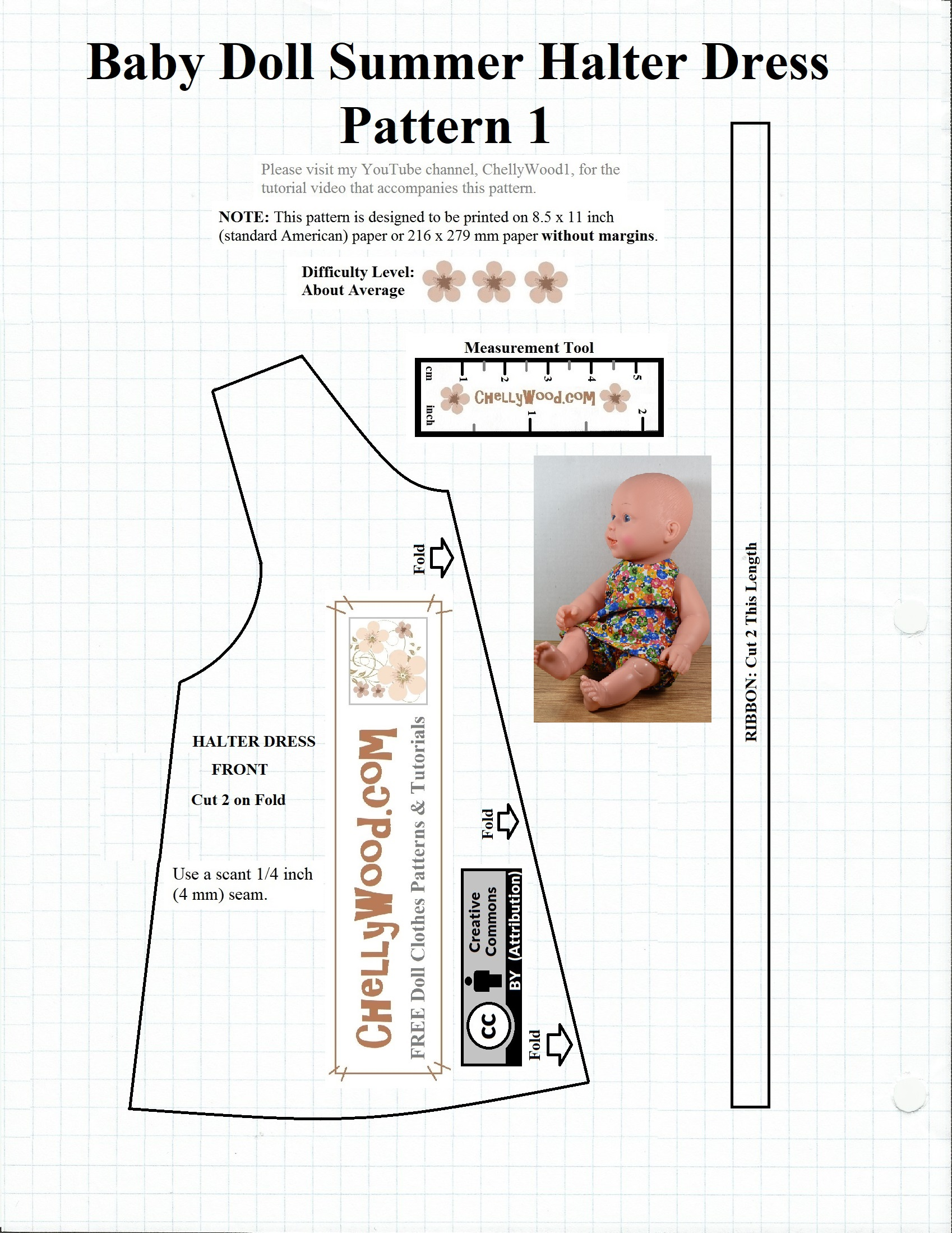 It's just a photo of Vibrant Printable Doll Clothes Patterns