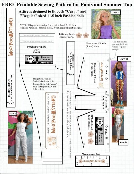 Dramatic image pertaining to printable barbie patterns