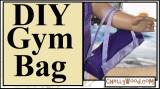 18-inch #Dolls #Gymnastics Bag #DIY w/free #sewing patterns @ChellyWood.com