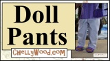 Let's #Sew some #doll pants with these #FREE 18″ #dolls' pants patterns and a #DIY tutorial!