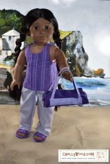 FREE Doll Clothes Patterns for 18-inch Dolls @ ChellyWood.com #Sewing #crafts #Dolls