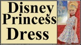 Free dress pattern for #DisneyPrincess #dolls @ ChellyWood.com #summerfun#Disneyland
