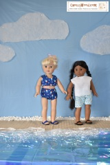 It's the end of #August and my #dolls are enjoying the #BeachLife @ ChellyWood.com