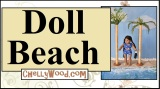 Create a tropical #beach or #seashore diorama for #dolls w/ChellyWood.com!