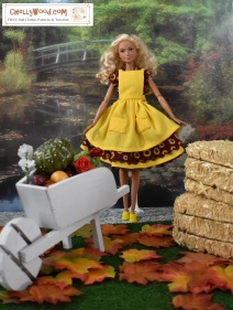 Please click here for a link to all the patterns and tutorials you'll need to make this outfit: https://chellywood.com/2018/10/17/todays-tutorial-shows-you-how-to-sew-an-autumn-dolls-dress-chellywood-com/
