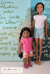 Please click here for all the free patterns and tutorials you'll need to make the doll clothes shown in this photo: https://wp.me/p1LmCj-FQA (posts on Friday, October 19, 2018)