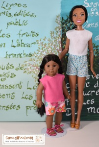 Please click here for all the free patterns and tutorials you'll need to make the doll clothes shown in this photo: https://wp.me/p1LmCj-FQA