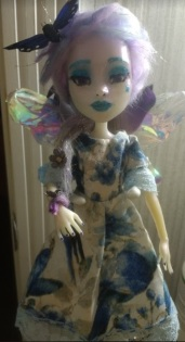 Monster High doll clothes and face repaint by Jessica A