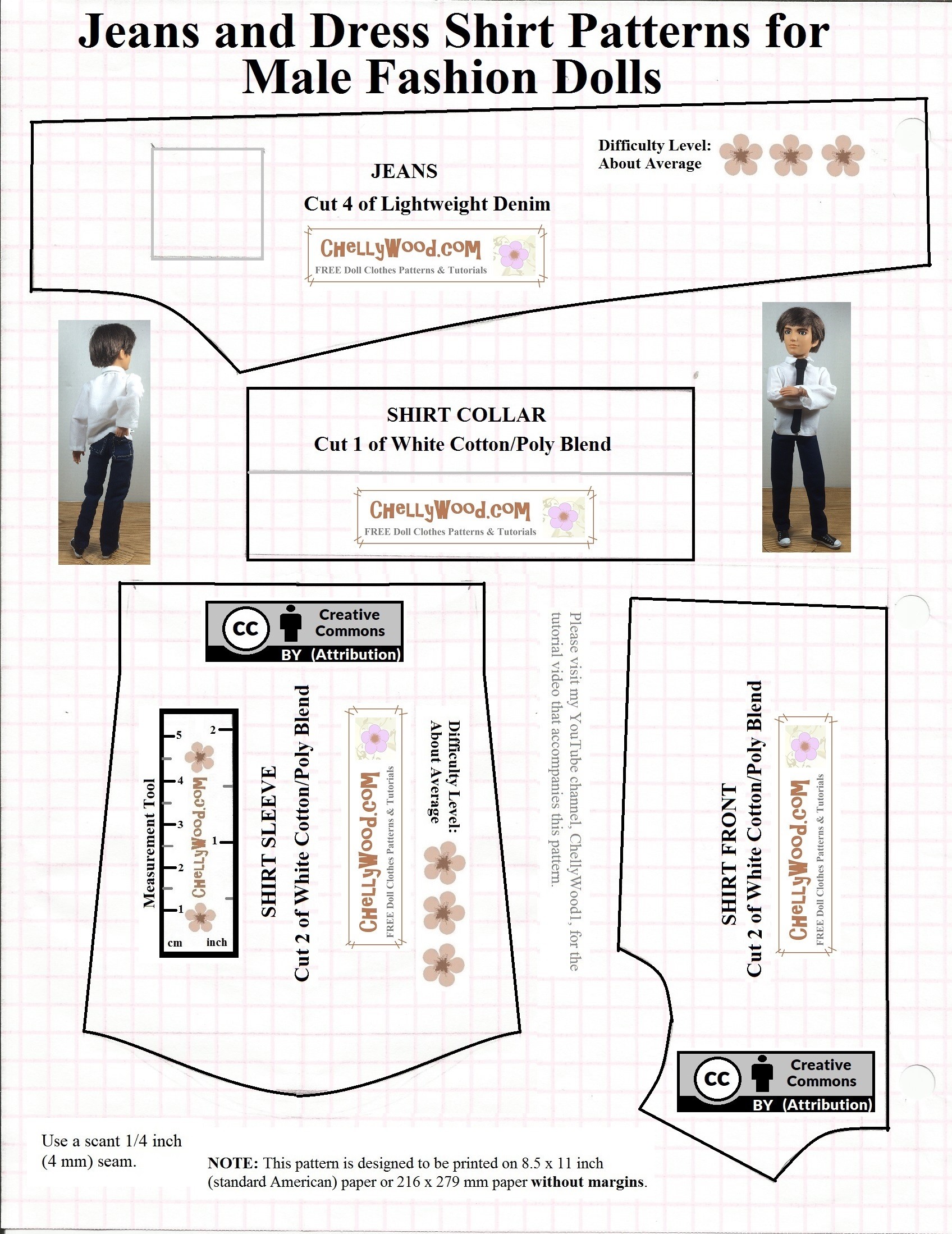 image regarding Printable Clothes titled No cost printable Ken #dolls clothing #sewing #behaviors