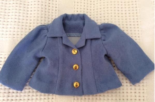 """Sara E's jacket for 18"""" dolls"""