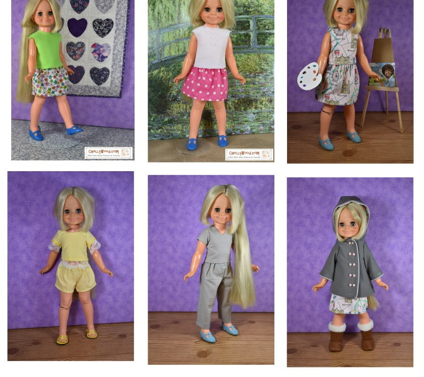 15 Inch Doll Clothes Patterns Free Doll Clothes Patterns