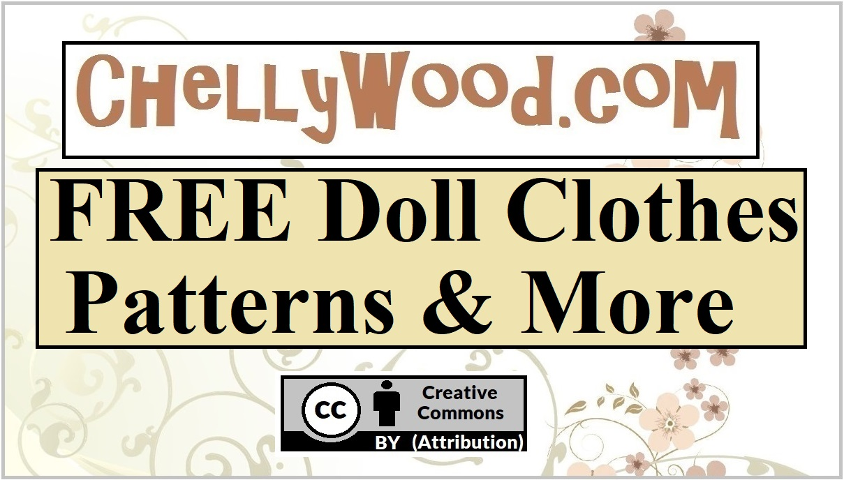 photograph regarding Free Printable Build a Bear Clothes Patterns identified as Totally free Doll Garments Models No cost, printable doll clothing